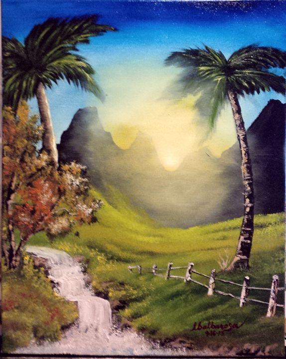 Sunset by Lloyd B. - Lloyd