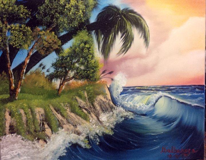 seascape by Lloyd B. - Lloyd