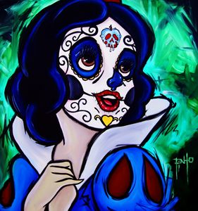 Day of the Dead Snow White