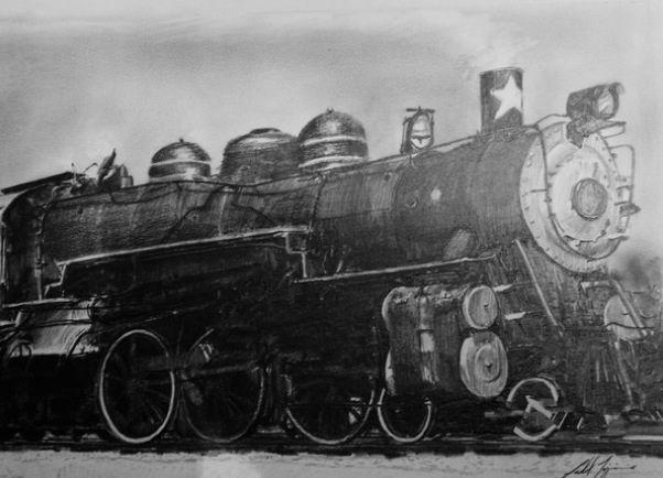 1st Texas Steam Engine - G.T.