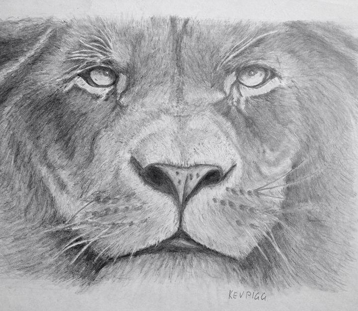 One day as a Lion - Kev Piggasso