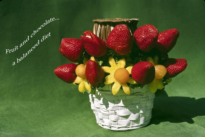 Fruit and Chocolate - Sally Weigand Images
