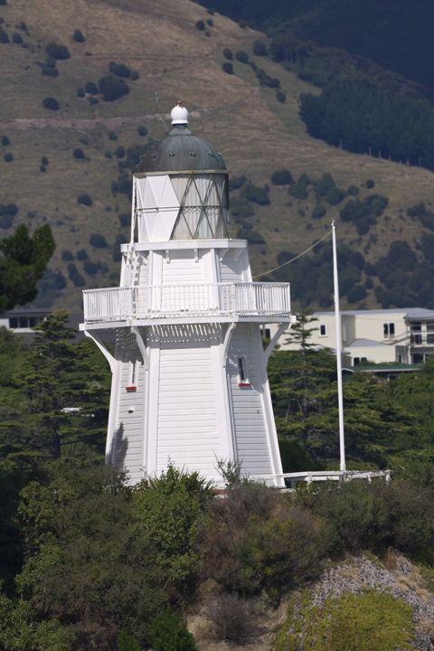 Akaroa Lighthouse - Sally Weigand Images