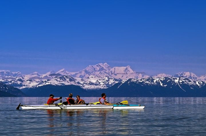 Kayakers - Sally Weigand Images