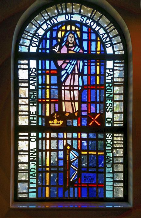 Our Lady of Scotland Window - Sally Weigand Images