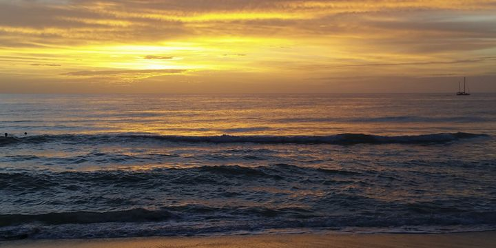 Gulf of Mexico Sunset - Sally Weigand Images