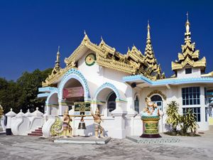 Myanmar Temple - Sally Weigand Images