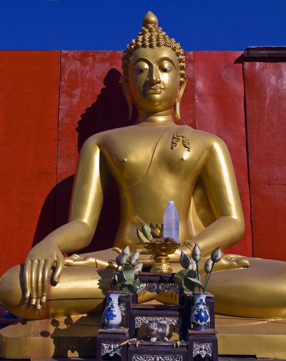 Golden Triangle Buddha - Sally Weigand Images