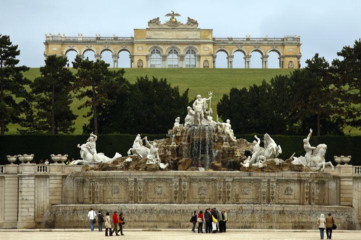 Schonbrunn Palace Garden - Sally Weigand Images