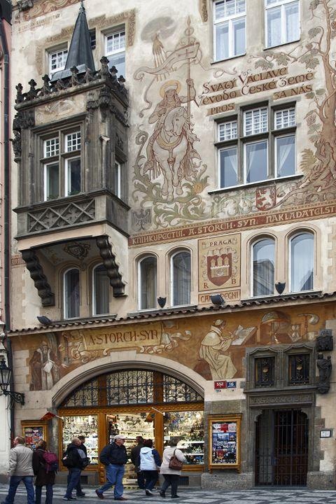 Prague Decorative Building - Sally Weigand Images