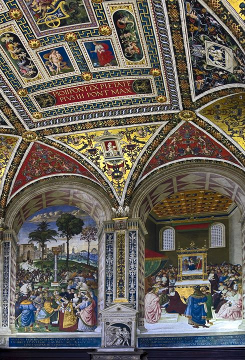 Biblioteca Piccolomini, Siena - Sally Weigand Images