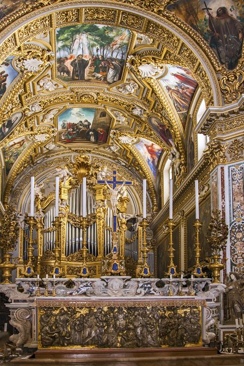 Abbey of Montecassino Altar - Sally Weigand Images