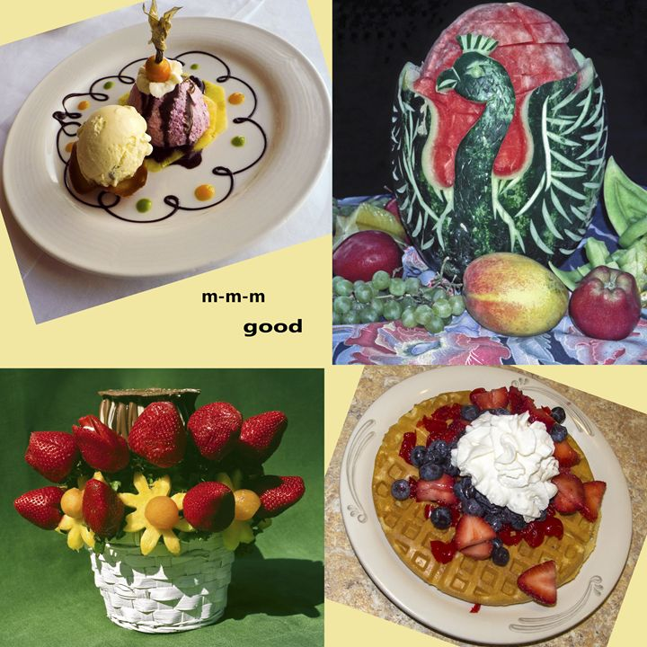 Food Collage - Sally Weigand Images