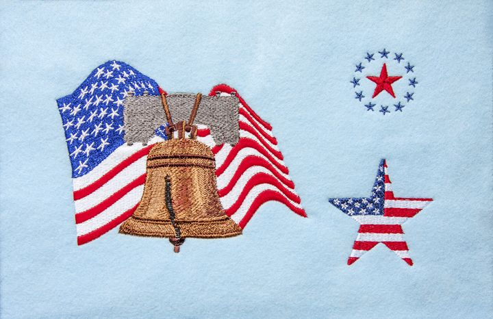 USA Patriotic Decoration - Sally Weigand Images