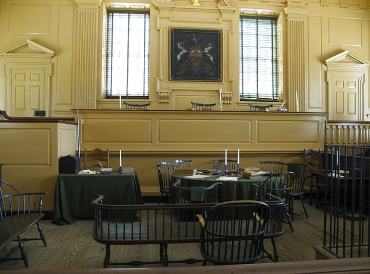 18th Century Supreme Courtroom - Sally Weigand Images