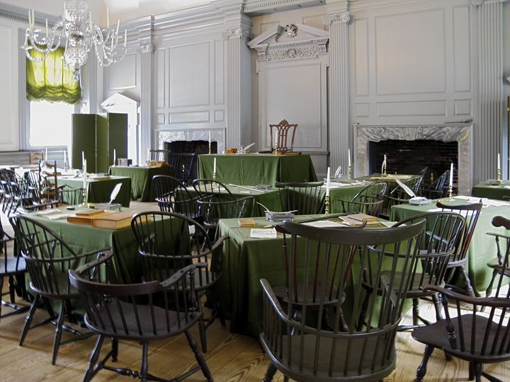 Independence Hall Assembly Room - Sally Weigand Images