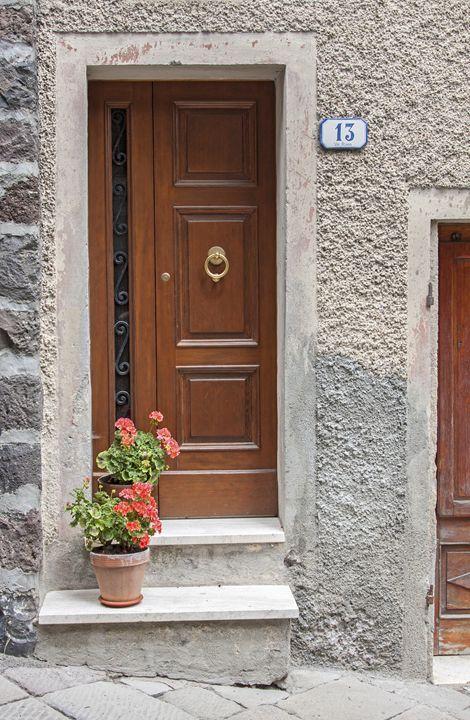 Geraniums at Door - Sally Weigand Images
