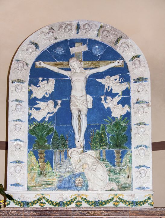 Della Robbia Crucifixion - Sally Weigand Images