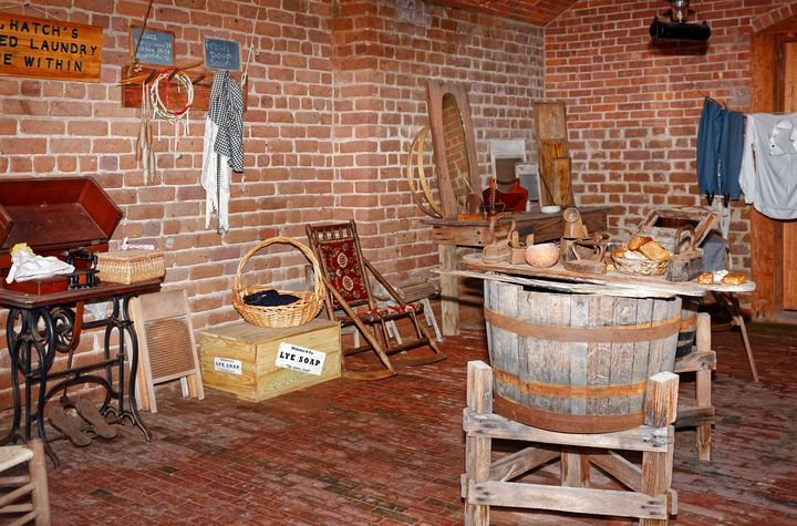 Old Laundry Fort Clinch - Sally Weigand Images