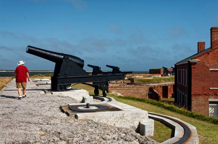 Fort Clinch Rampart - Sally Weigand Images