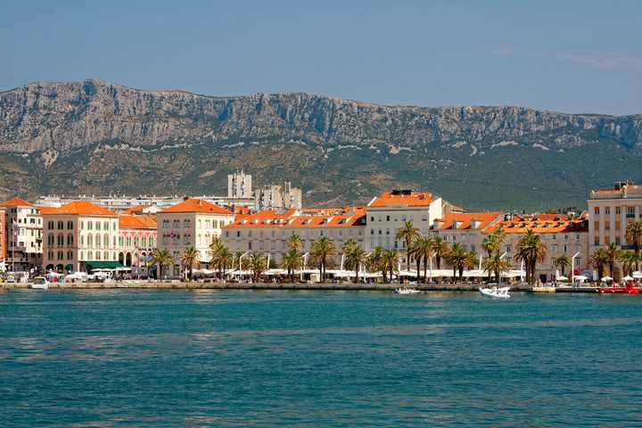 Split Croatia Waterfront - Sally Weigand Images