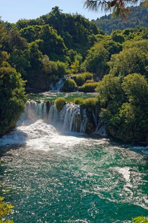 Waterfalls Krka National Park - Sally Weigand Images
