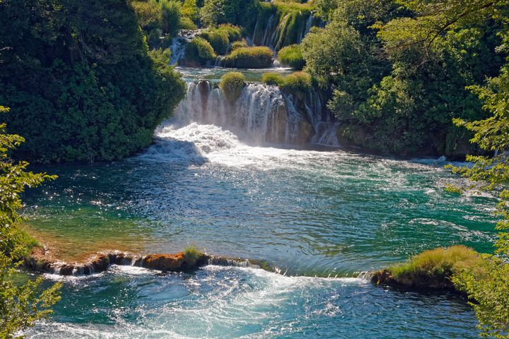 Krka National Park Waterfalls - Sally Weigand Images