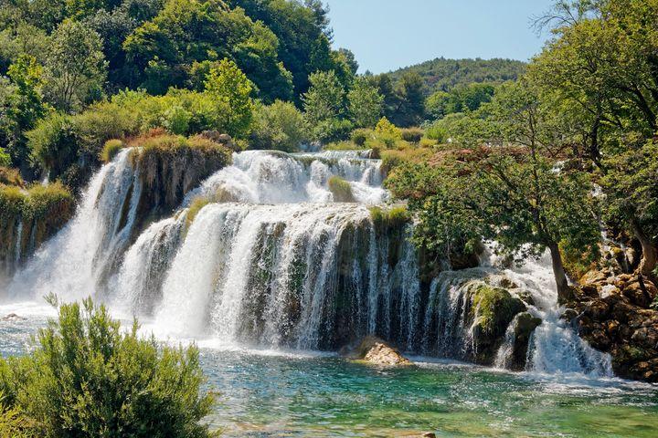 Krka National Park Waterfalls - Sally Weigand Images
