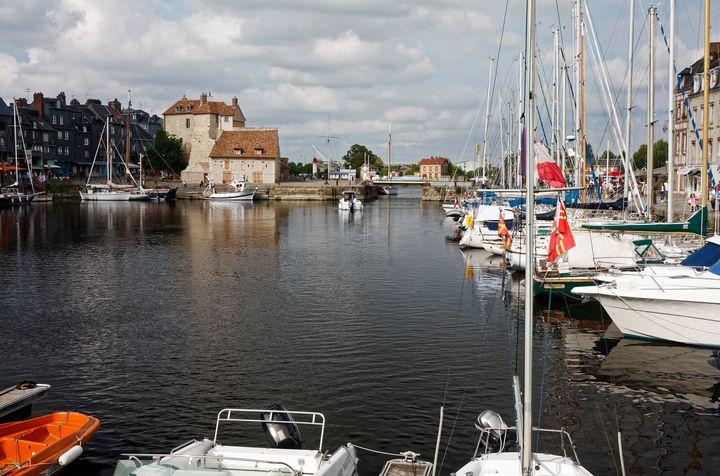 Vieux Bassin Honfleur - Sally Weigand Images