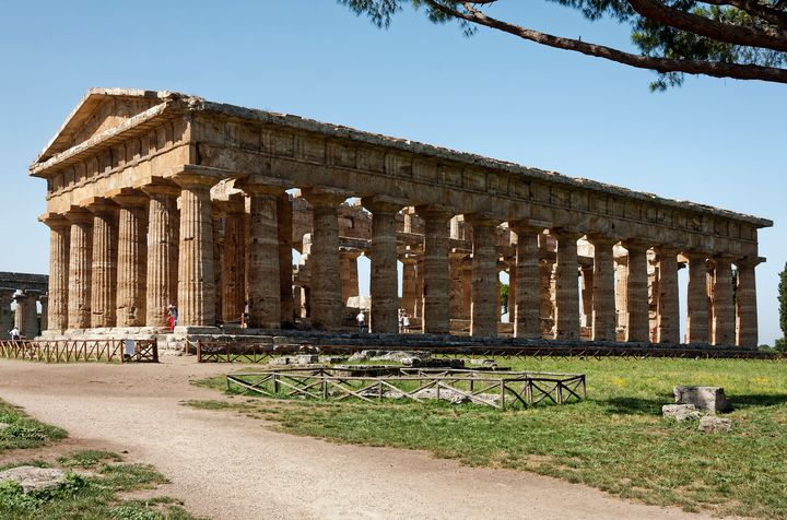 Paestum Temple of Neptune - Sally Weigand Images