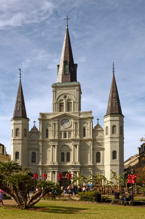 St. Louis Cathedral1794 - Sally Weigand Images