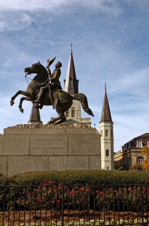 General Andrew Jackson Statue - Sally Weigand Images