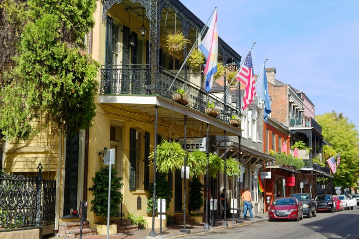 French Quarter Street Scene - Sally Weigand Images