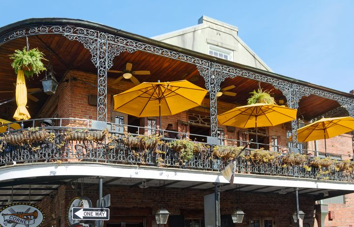 Bourbon Street Balcony - Sally Weigand Images