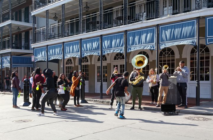 New Orleans Street  Musicians - Sally Weigand Images
