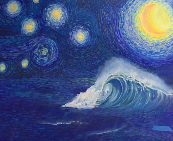 Starry sea - Jackie Ingrassia