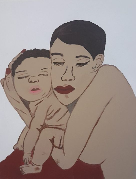 A Mother's Love - Chyna's Paintings