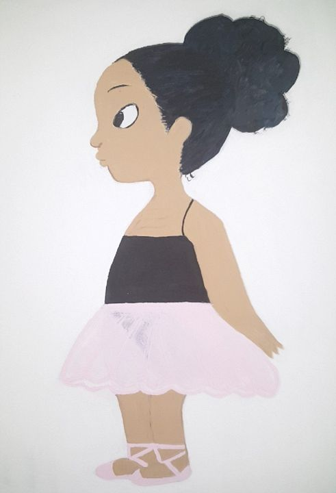 Little Ballerina - Chyna's Paintings