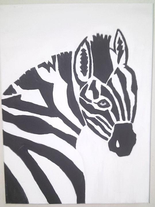 Zebra - Chyna's Paintings