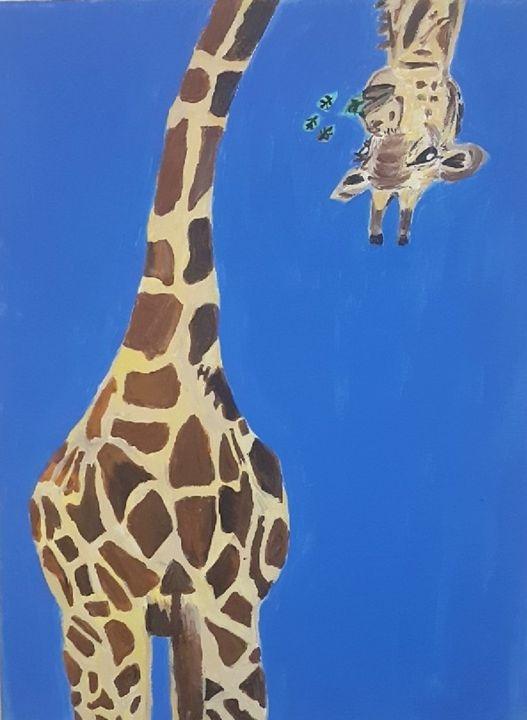 Big Giraffe - Chyna's Paintings