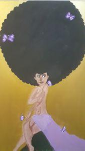 The Afro Goddess
