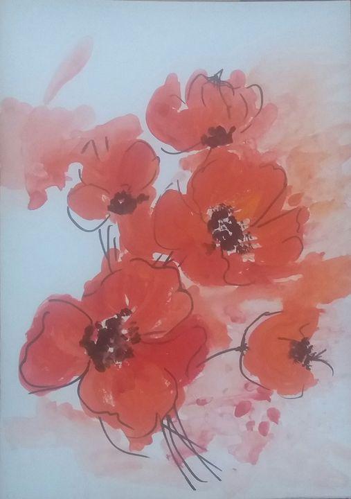 Poppy Flowers - NKAA