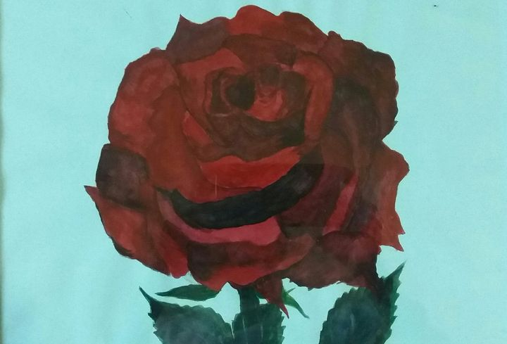 Red Rose Flower - NKAA