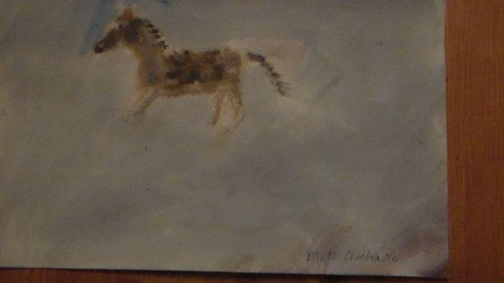 Running horse - Matt Andrade