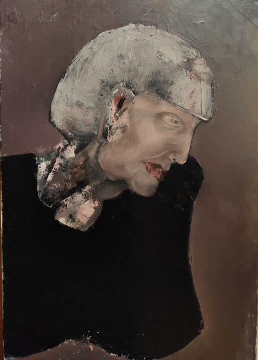 Black-dressed woman's portrait - Kseniia Karma
