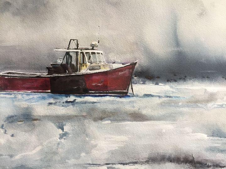 Stormy sea - Kir Art
