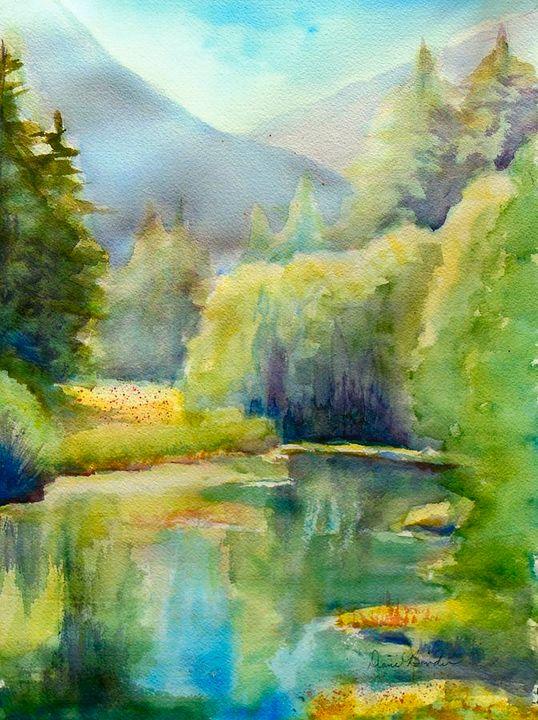 Morning in Valle Escondido - Binder Creations