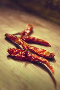 dry thai hot chilli pepper