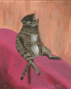 Depressed cat 2.0 - print