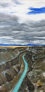 View from Gorge Bridge in Spring